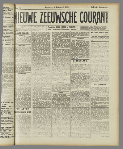 Nieuwe Zeeuwsche Courant 1912-02-06