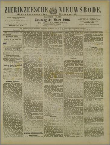 Zierikzeesche Nieuwsbode 1906-03-31
