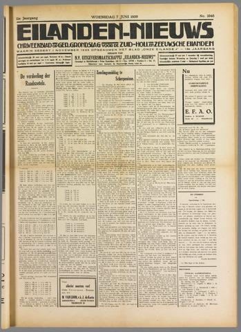 Eilanden-nieuws. Christelijk streekblad op gereformeerde grondslag 1939-06-07