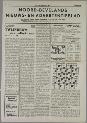 Noord-Bevelands Nieuws- en advertentieblad 1984-08-02