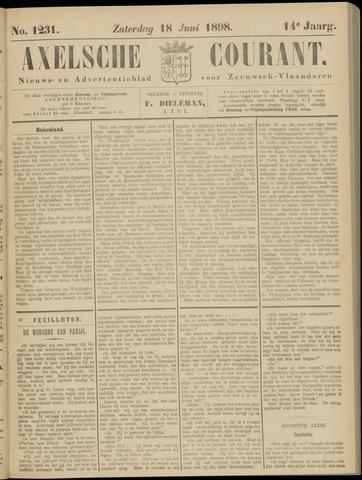 Axelsche Courant 1898-06-18