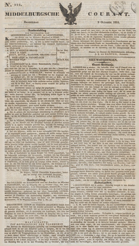 Middelburgsche Courant 1834-10-09
