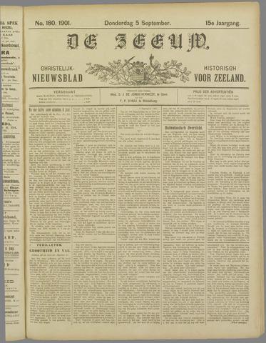 De Zeeuw. Christelijk-historisch nieuwsblad voor Zeeland 1901-09-05