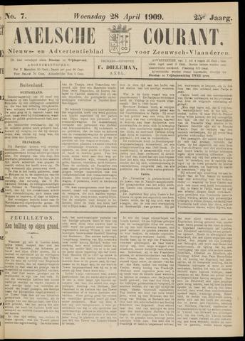 Axelsche Courant 1909-04-28