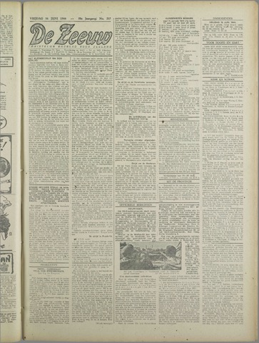 De Zeeuw. Christelijk-historisch nieuwsblad voor Zeeland 1944-06-16