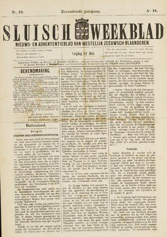 Sluisch Weekblad. Nieuws- en advertentieblad voor Westelijk Zeeuwsch-Vlaanderen 1876-05-12
