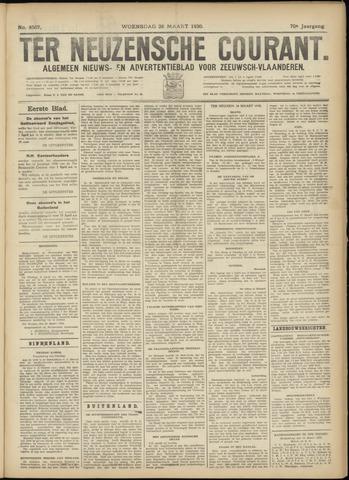 Ter Neuzensche Courant. Algemeen Nieuws- en Advertentieblad voor Zeeuwsch-Vlaanderen / Neuzensche Courant ... (idem) / (Algemeen) nieuws en advertentieblad voor Zeeuwsch-Vlaanderen 1930-03-26