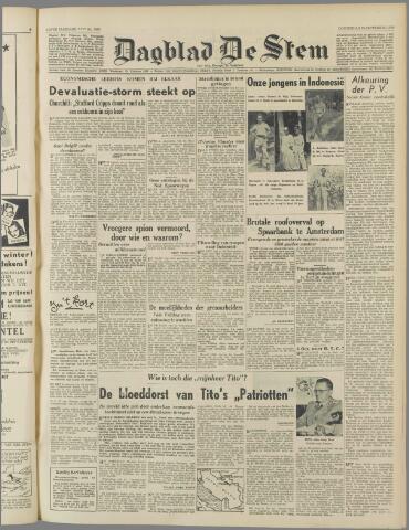 de Stem 1949-09-29