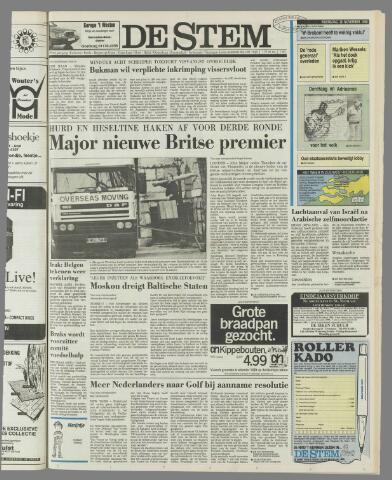 de Stem 1990-11-28