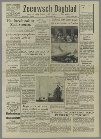 Zeeuwsch Dagblad 1958-05-02