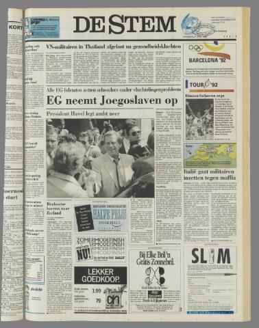 de Stem 1992-07-21