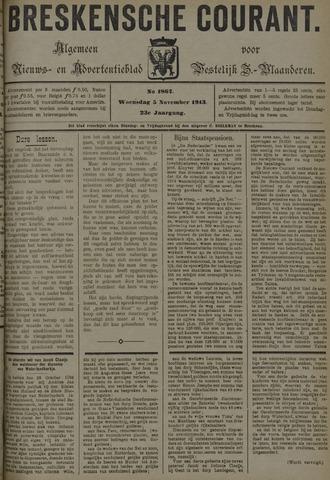 Breskensche Courant 1913-11-05
