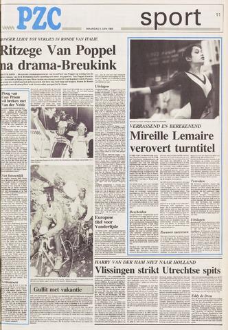 Provinciale Zeeuwse Courant | 5 juni 1989 | pagina 11