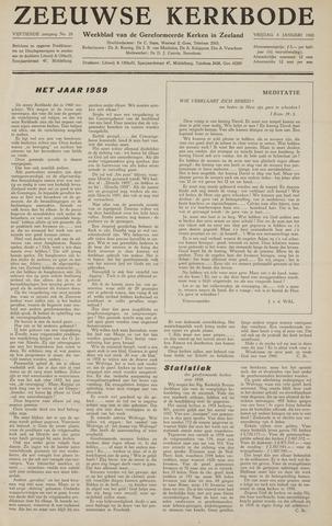 Zeeuwsche kerkbode, weekblad gewijd aan de belangen der gereformeerde kerken/ Zeeuwsch kerkblad 1960