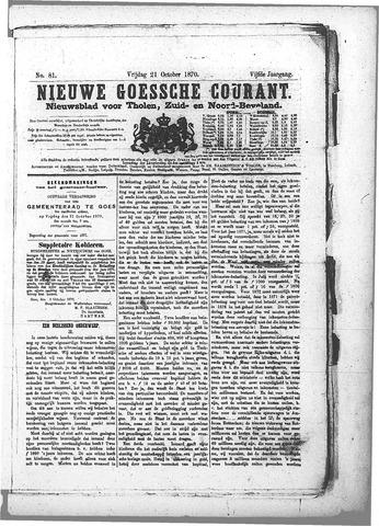 Nieuwe Goessche Courant 1870-10-21