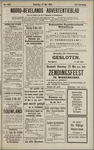 Noord-Bevelands Nieuws- en advertentieblad 1926-05-22