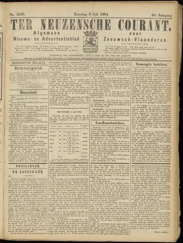 Ter Neuzensche Courant. Algemeen Nieuws- en Advertentieblad voor Zeeuwsch-Vlaanderen / Neuzensche Courant ... (idem) / (Algemeen) nieuws en advertentieblad voor Zeeuwsch-Vlaanderen 1904-07-09