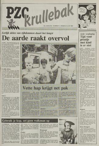 Provinciale Zeeuwse Courant katern Krullenbak (1981-1999) 1990-06-12
