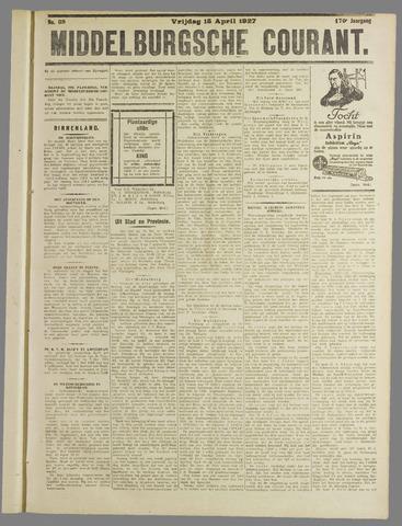 Middelburgsche Courant 1927-04-15