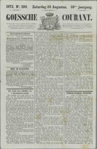 Goessche Courant 1872-08-24
