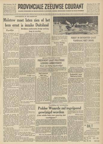 Provinciale Zeeuwse Courant 1954-01-30