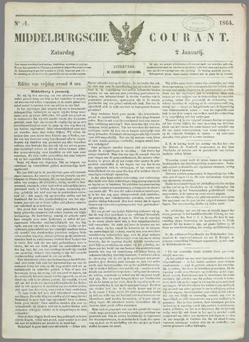 Middelburgsche Courant 1864