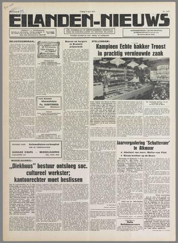 Eilanden-nieuws. Christelijk streekblad op gereformeerde grondslag 1976-04-09