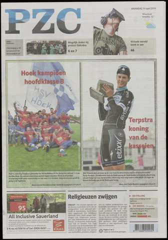 Provinciale Zeeuwse Courant 2014-04-14