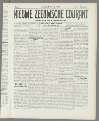 Nieuwe Zeeuwsche Courant 1908-01-21