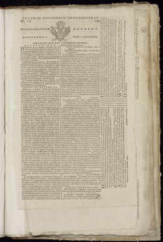 Middelburgsche Courant 1799-09-12