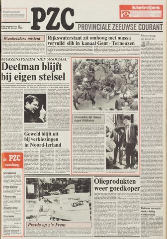 Provinciale Zeeuwse Courant 1986-01-24