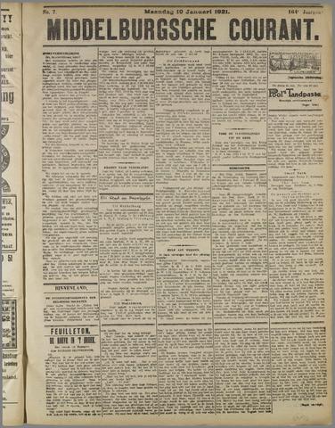 Middelburgsche Courant 1921-01-10