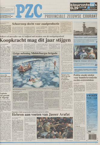 Provinciale Zeeuwse Courant 1997-01-20
