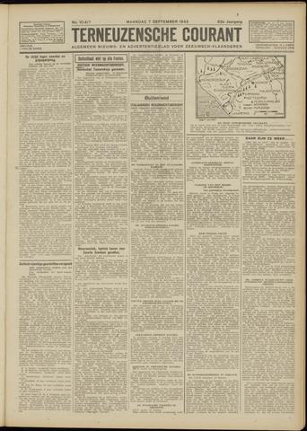Ter Neuzensche Courant. Algemeen Nieuws- en Advertentieblad voor Zeeuwsch-Vlaanderen / Neuzensche Courant ... (idem) / (Algemeen) nieuws en advertentieblad voor Zeeuwsch-Vlaanderen 1942-09-07