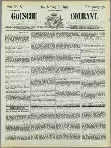 Goessche Courant 1890-07-31