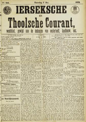 Ierseksche en Thoolsche Courant 1892-05-07