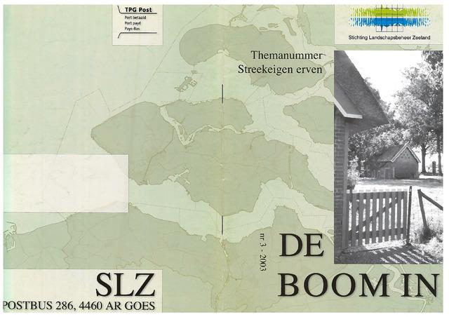 Landschapsbeheer Zeeland - de Boom in 2003-10-01
