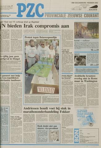 Provinciale Zeeuwse Courant 1992-07-24