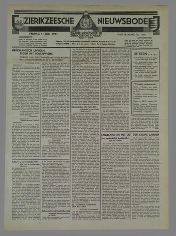 Zierikzeesche Nieuwsbode 1941-07-19