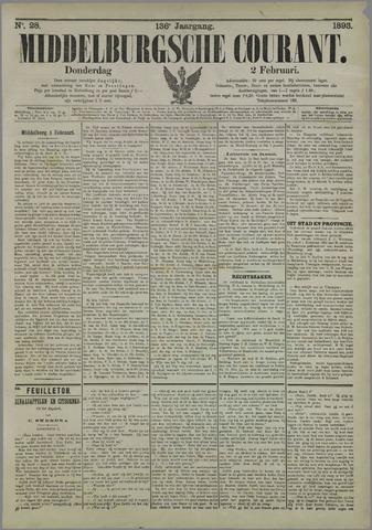Middelburgsche Courant 1893-02-02