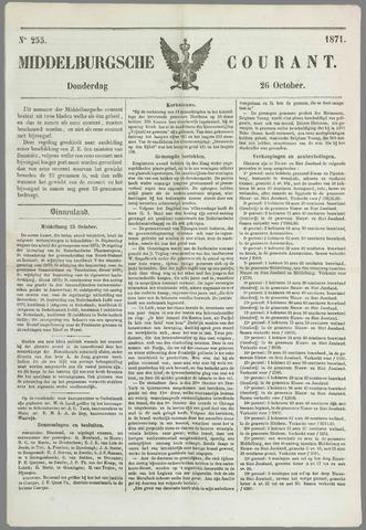 Middelburgsche Courant 1871-10-26