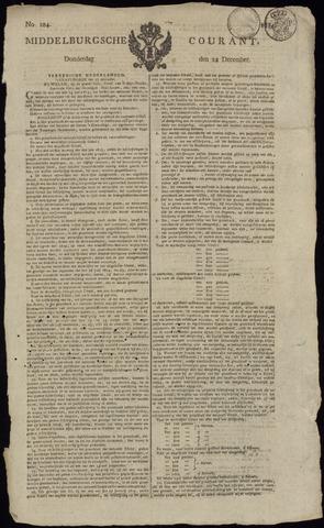 Middelburgsche Courant 1814-12-22