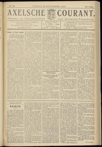 Axelsche Courant 1930-09-26