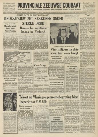 Provinciale Zeeuwse Courant 1961-11-25
