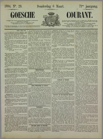 Goessche Courant 1884-03-06