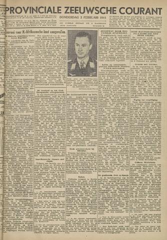 Provinciale Zeeuwse Courant 1944-02-03