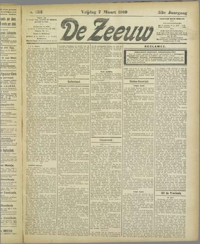 De Zeeuw. Christelijk-historisch nieuwsblad voor Zeeland 1919-03-07