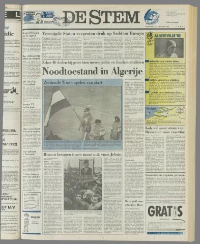 de Stem 1992-02-10