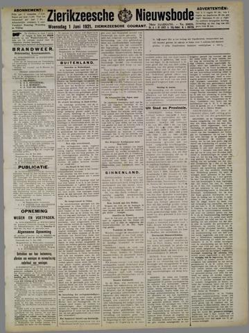 Zierikzeesche Nieuwsbode 1921-06-01