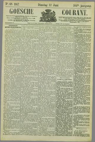 Goessche Courant 1917-06-12